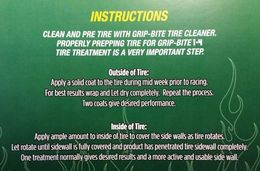 Grip-Bite I-4 Tire Treatment (Green)